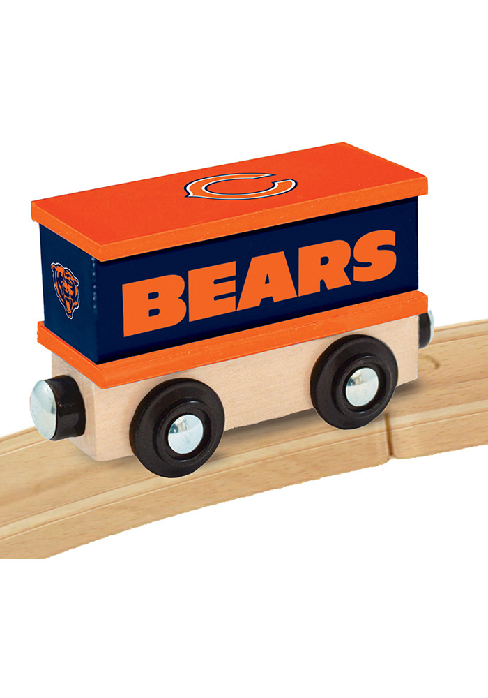 Chicago Bears Wooden Train - Image 3