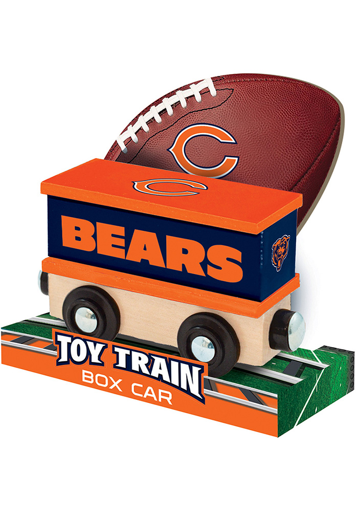 Chicago Bears Wooden Train - Image 4