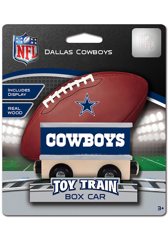 Dallas Cowboys Wooden Train - Image 1