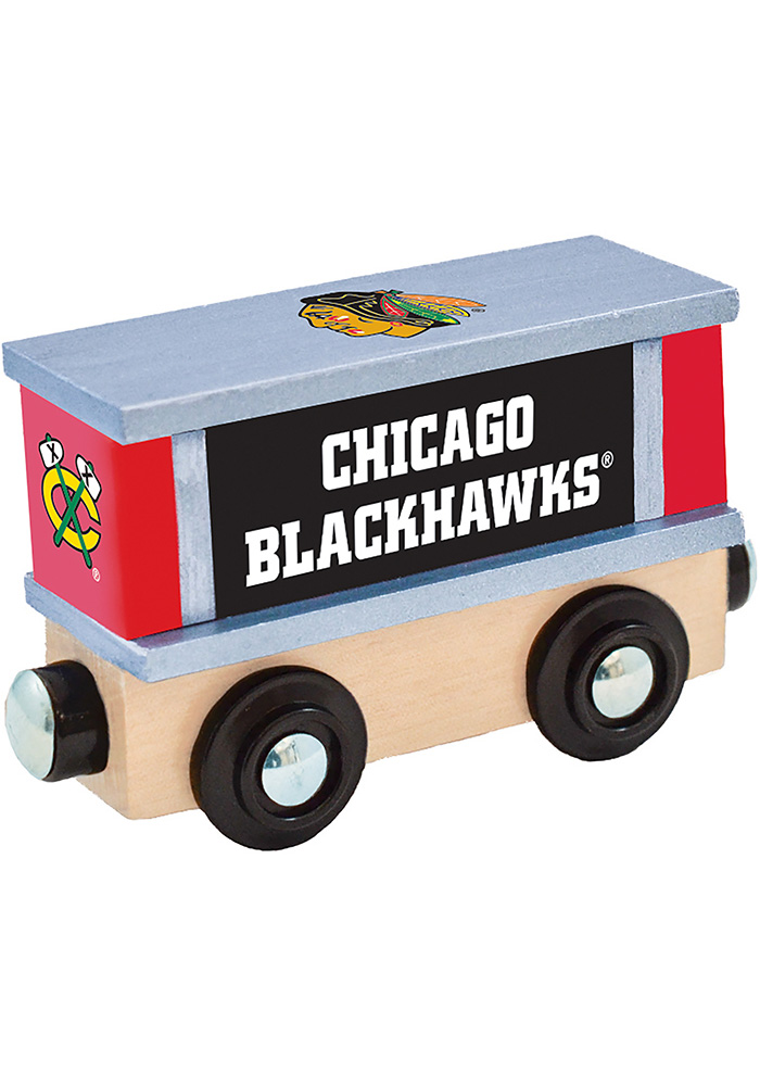 Chicago Blackhawks Wooden Train - Image 2