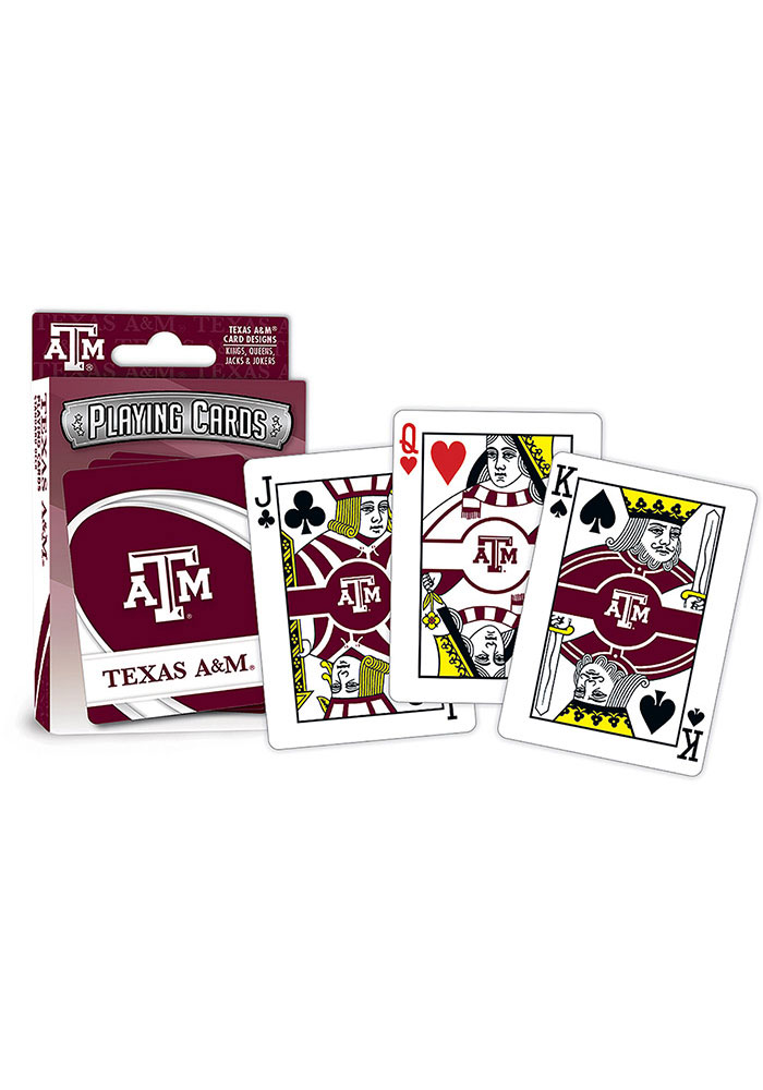 Texas A&M Aggies Team Playing Cards - Image 1