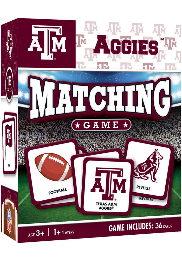 Texas A&M Aggies Matching Game - Image 1