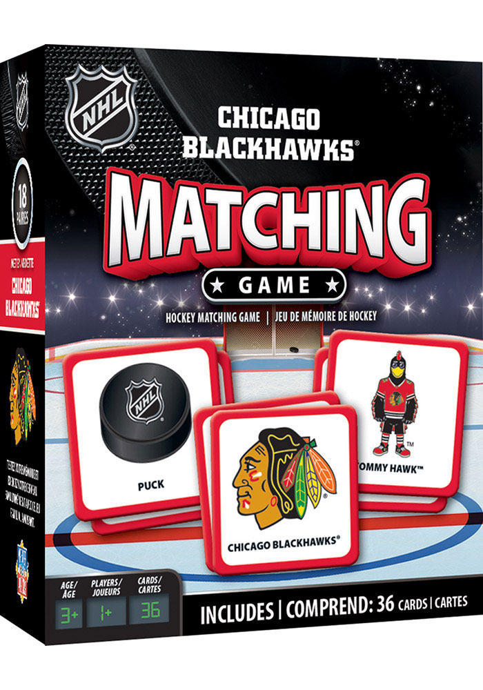 Chicago Blackhawks Matching Game