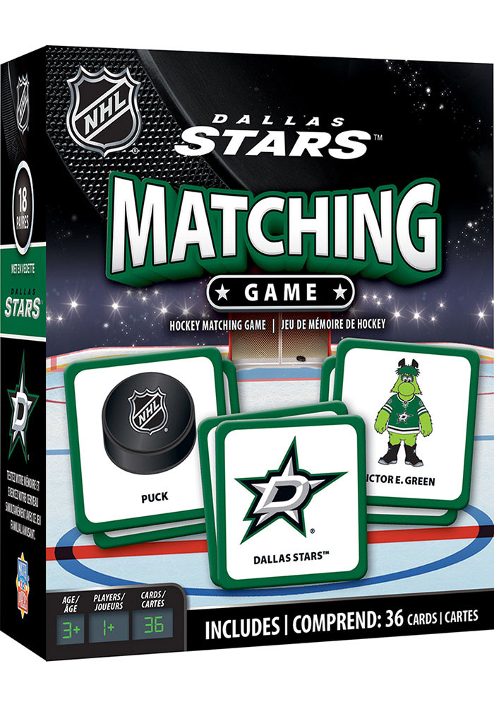 Dallas Stars Matching Game