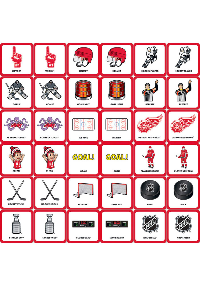 Detroit Red Wings Matching Game - Image 2