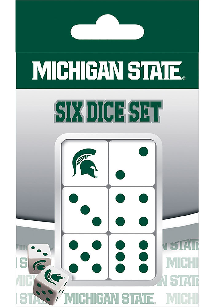 Michigan State Spartans 6pc Game - Image 1