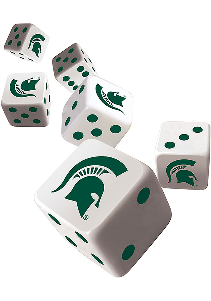 Michigan State Spartans 6pc Game - Image 2