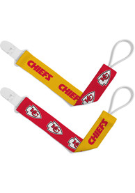 Kansas City Chiefs Baby 2pk Pacifier - Red