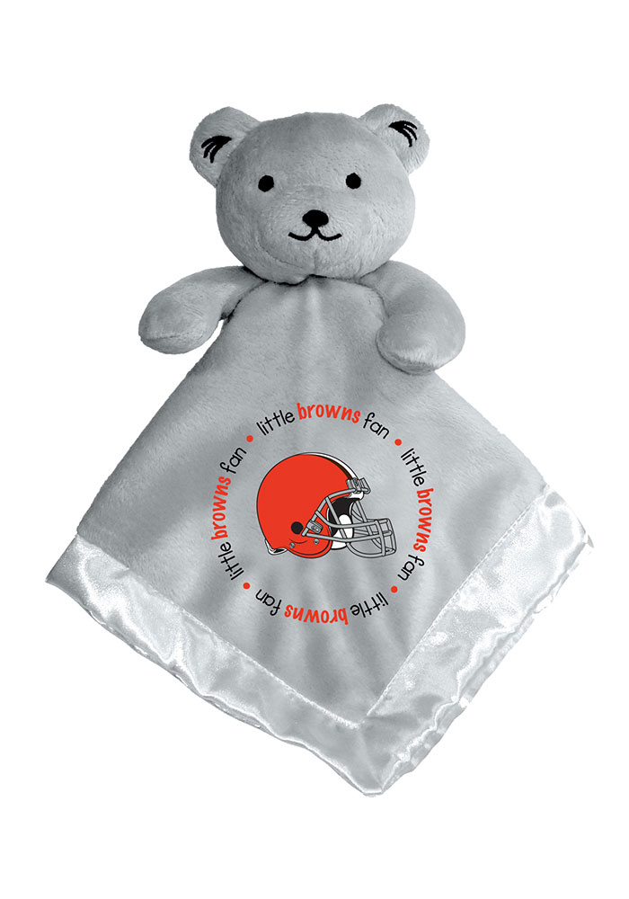 Cleveland Browns Baby Gray Blanket - Grey