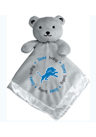 Detroit Lions Baby Gray Blanket - Grey