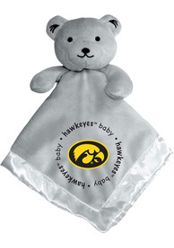 Iowa Hawkeyes Baby Gray Blanket - Grey