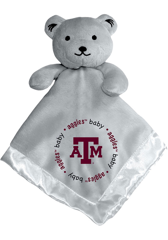 Texas A&M Aggies Gray Baby Blanket - Image 1