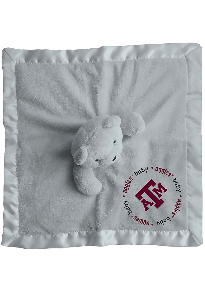 Texas A&M Aggies Gray Baby Blanket - Image 2