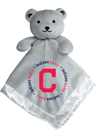Cleveland Indians Baby Gray Blanket - Grey