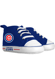Chicago Cubs Baby Baby Shoes - Blue
