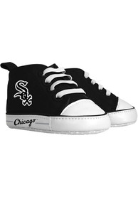 Chicago White Sox Baby Baby Shoes - Black