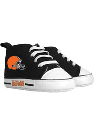 Cleveland Browns Baby Baby Shoes - Orange