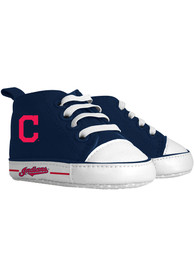 Cleveland Indians Baby Baby Shoes - Blue