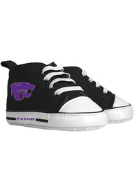 K-State Wildcats Baby Baby Shoes - Purple