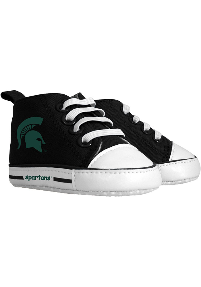 Michigan State Spartans Baby Baby Shoes - Image 1