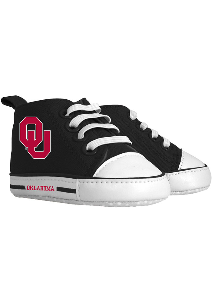 Oklahoma Sooners Baby Baby Shoes - Red