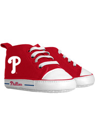 Philadelphia Phillies Baby Baby Shoes - Red