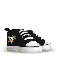 Pittsburgh Penguins Baby Baby Shoes - Black