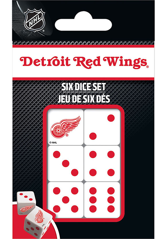 Detroit Red Wings 6pc Game - Image 1