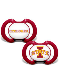 Iowa State Cyclones Baby 2pk Pacifier - Red