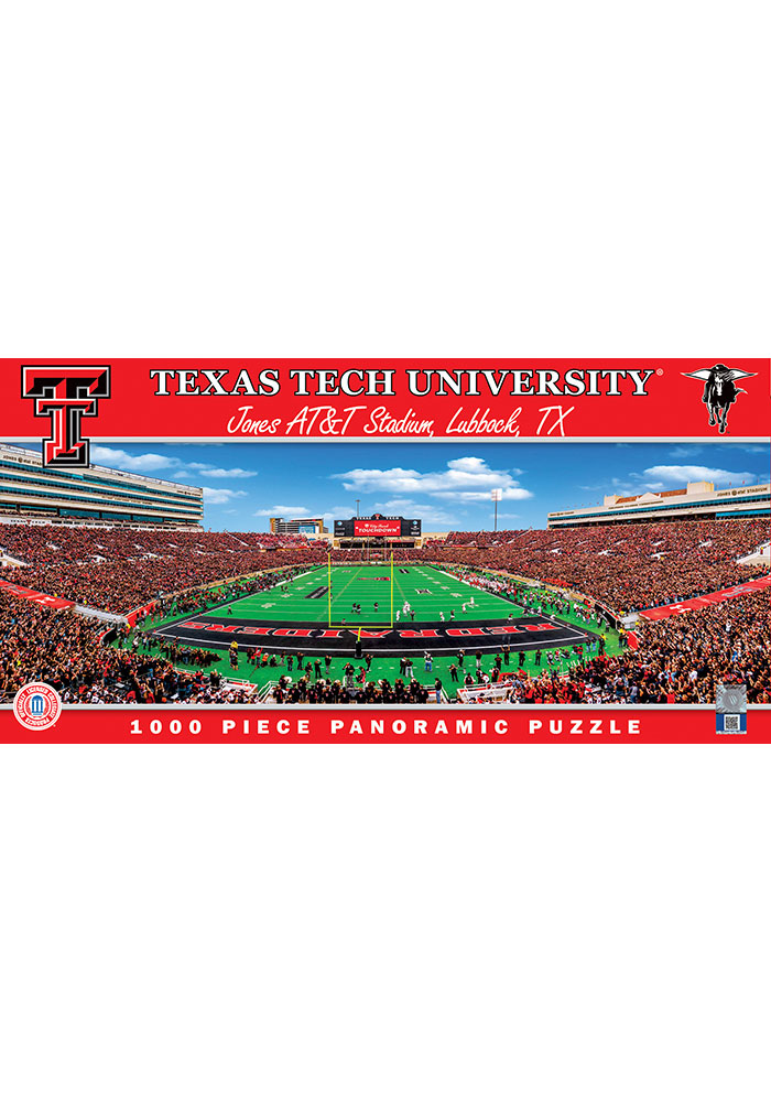 Texas Tech Red Raiders Panoramic Puzzle - Image 1