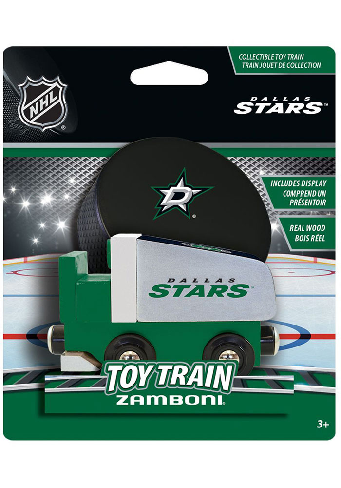 Dallas Stars Wood Train