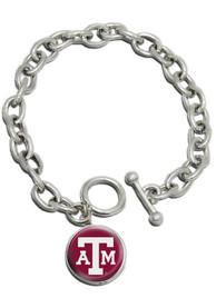 Texas A&M Aggies Womens Single Drop Bracelet - Maroon