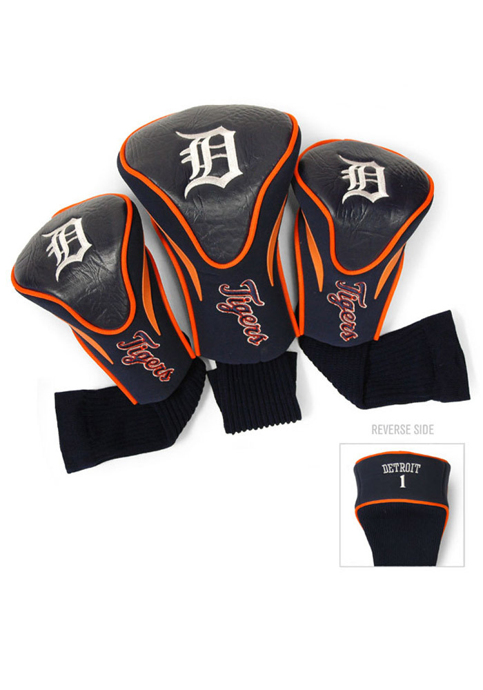 Detroit Tigers 3 Pack Contour Golf Headcover - Image 1