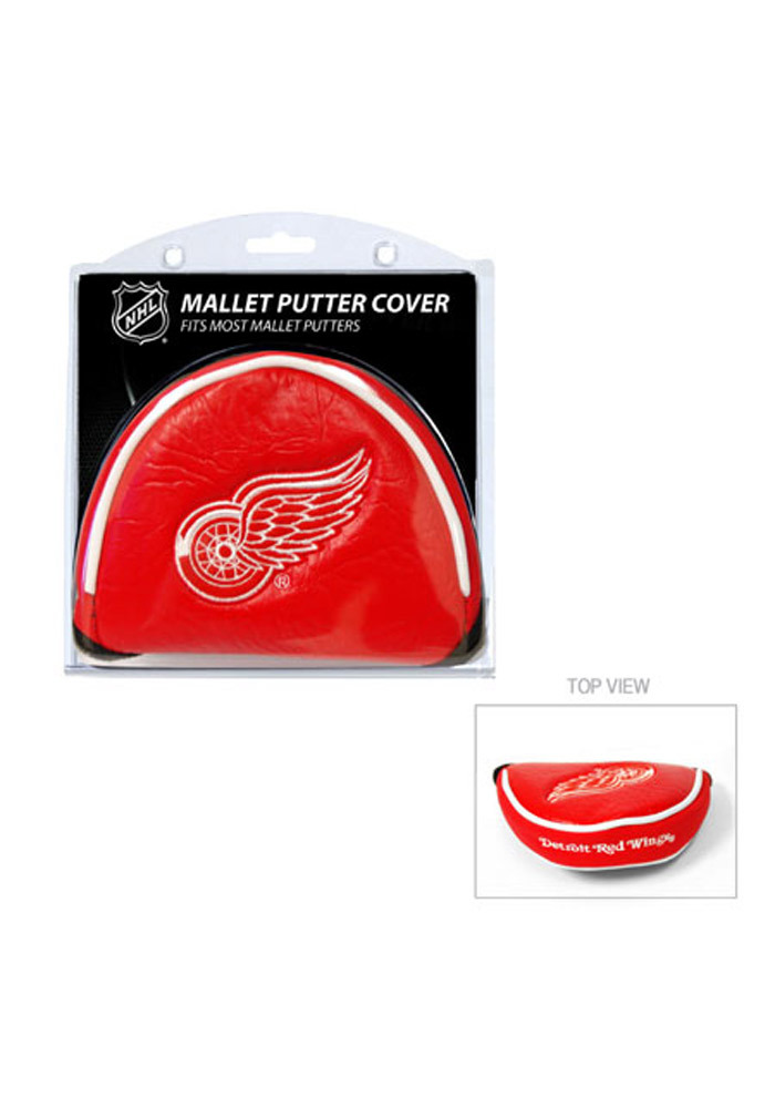 Detroit Red Wings Red Mallet Putter Cover - Image 1