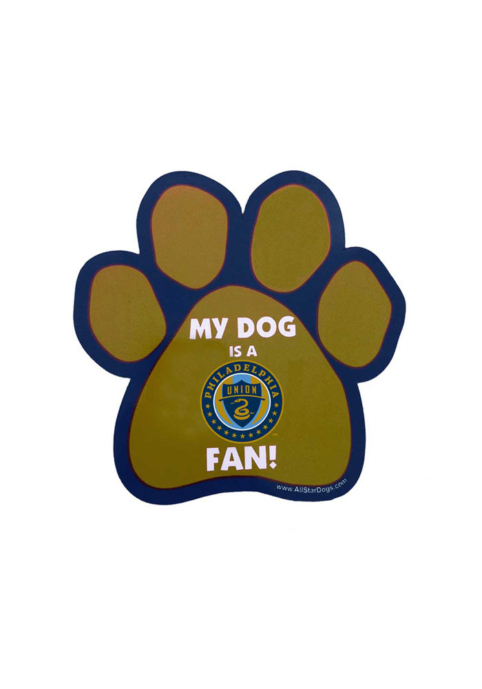 Philadelphia Union Paw Pet Magnet - Image 1