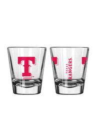 Texas Rangers 2oz Clear Shot Glass