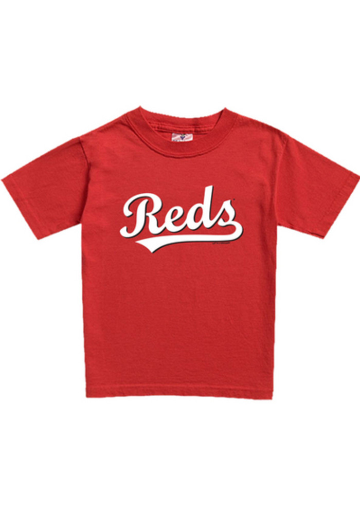 Cincinnati Reds Toddler Red Toddler Jersey Logo Short Sleeve T-Shirt - Image 2