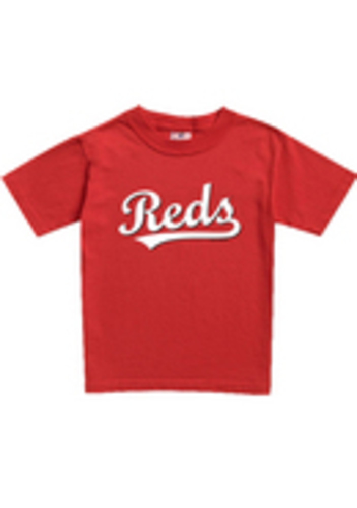 Cincinnati Reds Toddler Red Toddler Jersey Logo Short Sleeve T-Shirt - Image 3