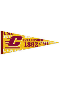 Central Michigan Chippewas 12x30 Vintage Pennant