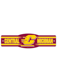 Central Michigan Chippewas Street Sign