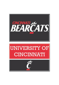 Cincinnati Bearcats 2 pack 2 x 3 rectangle Magnet