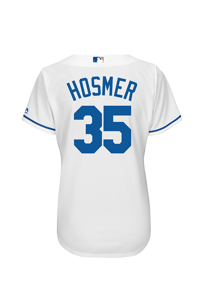 Eric Hosmer Kansas City Royals Womens Replica Cool Base Jersey - White - Image 1