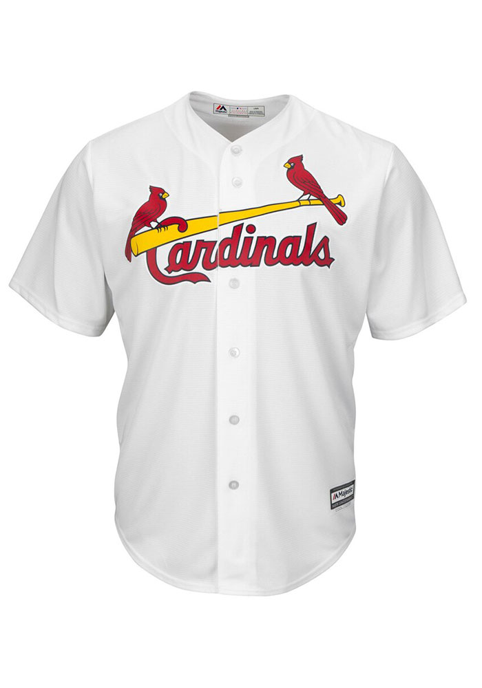 Yadier Molina St Louis Cardinals Mens Replica Cool Base Jersey Jersey - White - Image 2