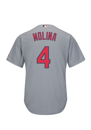 Yadier Molina St Louis Cardinals Mens Replica Cool Base Jersey Jersey
