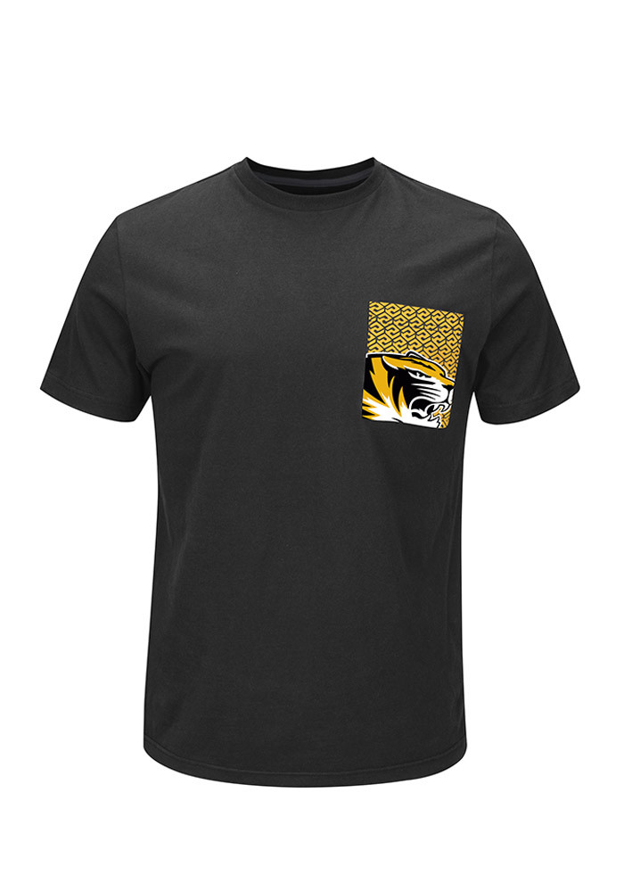 majestic missouri tigers mens grey fulfillment short