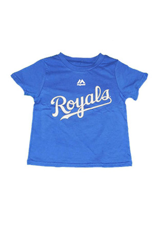 Eric Hosmer Kansas City Royals Outer Stuff Blue Hosmer Player Short Sleeve T-Shirt