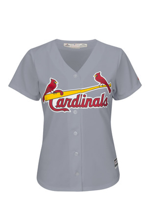St Louis Cardinals Womens Majestic Replica Cool Base Replica Jersey