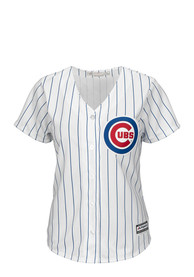 Chicago Cubs Womens Majestic Cool Base Replica - White