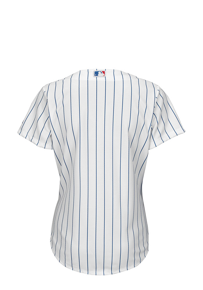 Chicago Cubs Womens Majestic Replica Cool Base Jersey - White - Image 2