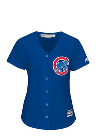 Chicago Cubs Womens Majestic Majestic Replica - Blue